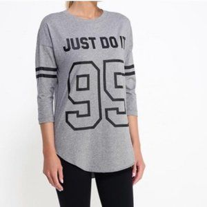 Nike Women's Just Do It '95 3/4 Sleeve Shir